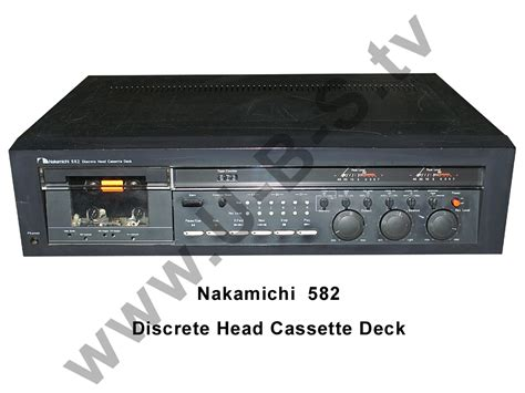 nakamichi cassette deck nakamichi 582 discrete cassette deck ebay