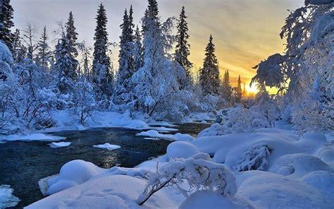 imagenes naturaleza invierno r 237 o del invierno naturaleza 225 rboles paisaje hd 1080p