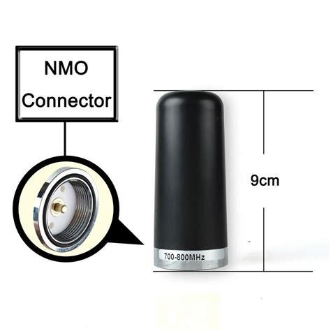 stubby roof mount  mhz nmo connector antenna
