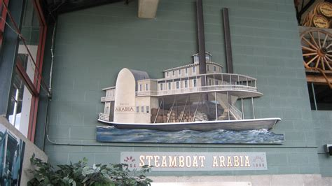steamboat museum road trip through history the arabia steamboat museum