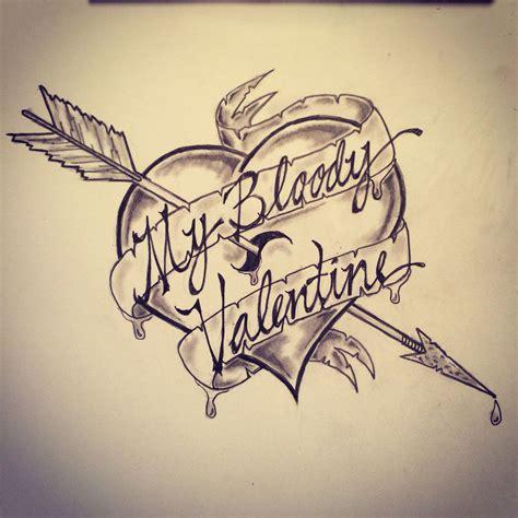 valentine tattoo designs my bloody sk sketches