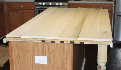 diy pine wood countertops remodelaholic how to create faux reclaimed wood countertops