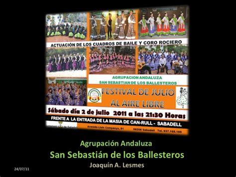 Dean Espa 177 A festival fin de curso san sebastian ballesteros