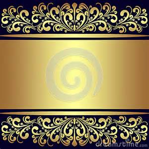 Luxury background with golden royal borders royalty free stock images