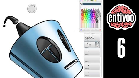 Agrega Color A Tus Dibujos En Sketchbook Pro Usando La