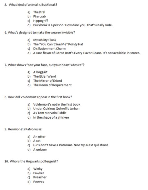 printable quiz harry potter in honor of harry potter s impending mid life crisis and