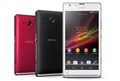 sony xperia sp sony announces mid range xperia sp and low end xperia l