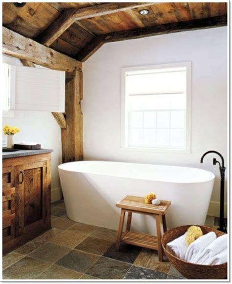 badezimmer ideen mit holz 22 badezimmer ideen f 252 r eine rustikale gem 252 tlichkeit