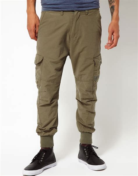 bench cargo trousers object moved