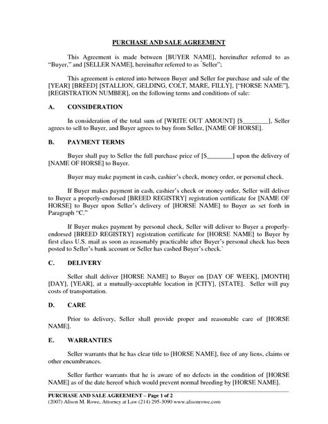 buyer seller agreement template buyer seller agreement template 28 images agreement