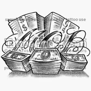 money stack tattoo designs money tattoos drawings www pixshark images