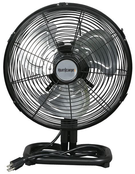 hurricane pro high velocity metal floor fan 12 in