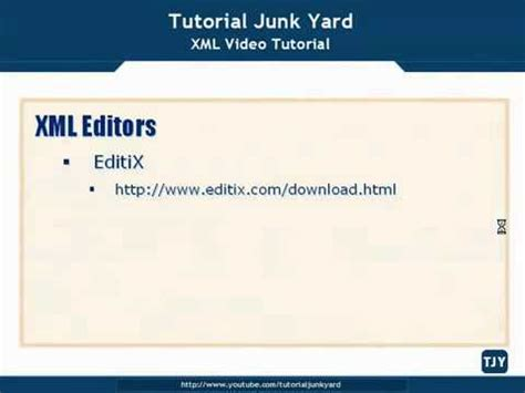 tutorial xml copy editor xml tutorial 12 xml editors youtube