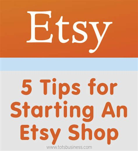 5 tips for starting an etsy shop thinking outside the