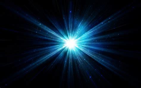 blue star light blazing rays wallpapers blue star light