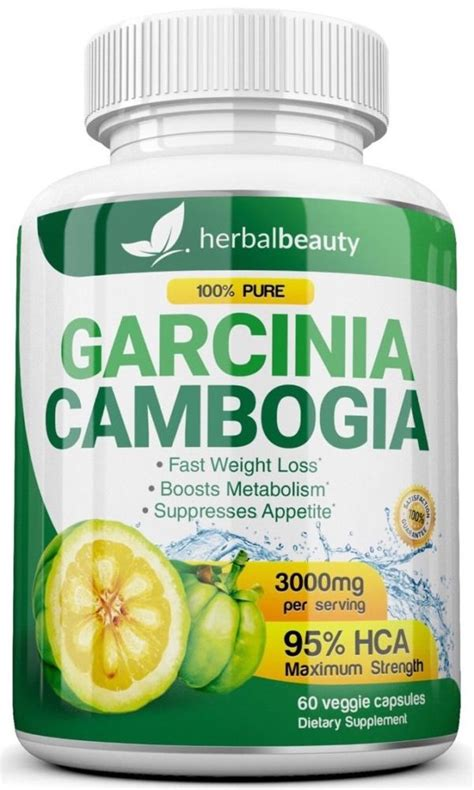 garcinia cambogia 95 hca 3000mg with free colon cleanser