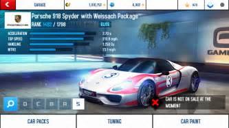 Porsche 918 Stats Porsche 918 Spyder With Weissach Package Performance Stats