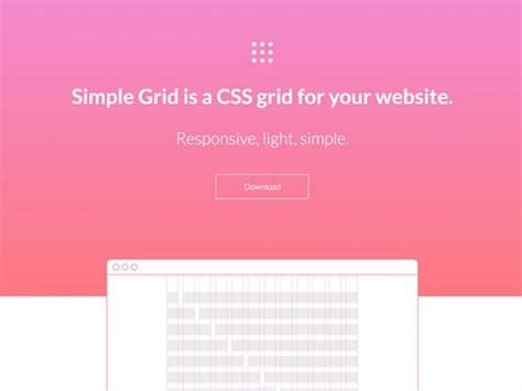 grid layout css framework simple grid lightweight and responsive css grid freebiesbug