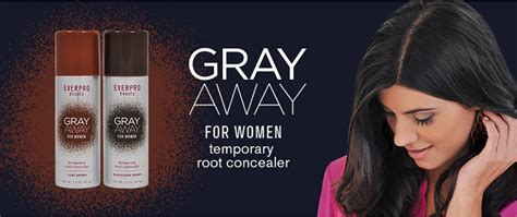 gray away root concealer gray away hair dye as seen on stretch out hair touch ups with gray away root concealer