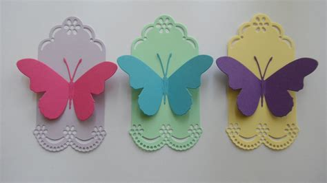 Paper Craft Butterflies - paper craft butterfly gift envelopes