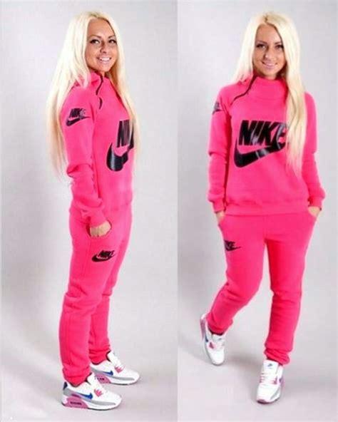 Set Sweater Nike Hoodie jumpsuit nike nike air nike sportswear pink crewneck