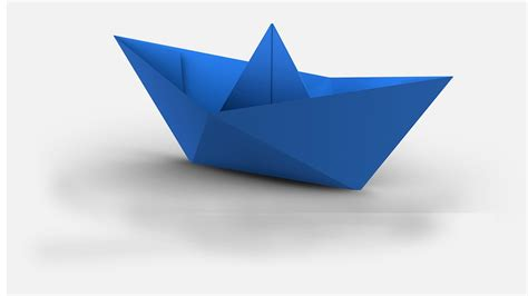 Origami Boat Tutorial - how to make a paper boat origami tutorial