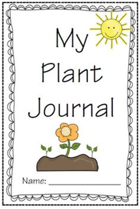 printable plant observation journal free this is a simple seed observation journal students