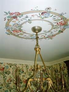 Dining Room Paint Colors hand painted ceiling medallion dining room decor match