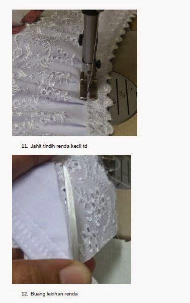 sweet  simple tutorial jahit telekung sewing