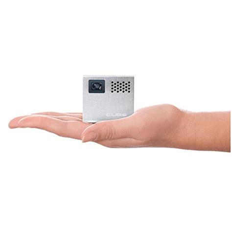 Proyektor Rif6 Cube rif6 cube 2 inch pico dlp high res mobile projector 120 inch display 20 000 hour led