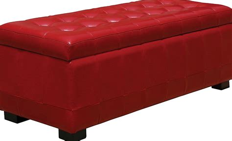 storage ottomans canada red storage ottoman canada home design ideas