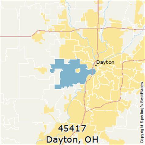 zip code map dayton ohio best places to live in dayton zip 45417 ohio