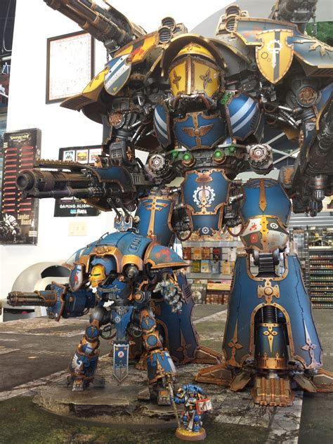 warlord titan showcase