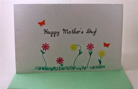 Handmade Mothers Day Cards For - handmade mothers day cards for from friday