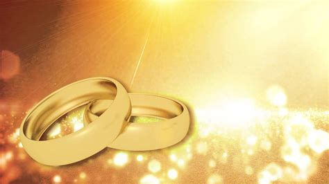 Wedding Video Background Ring Animation HD   YouTube