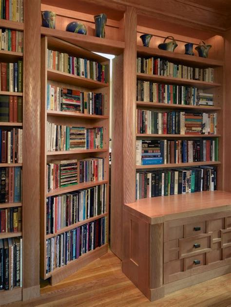 hidden bookcase door hidden door home design ideas pictures remodel and decor
