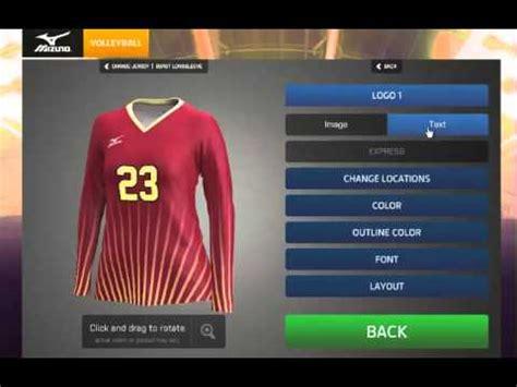 Jersey Creie Ori mizuno sublimated jersey design tutorial