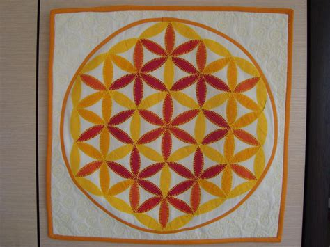 pattern flower of life free quilt pattern flower of life