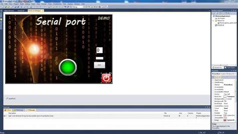 serial port in use how to use serial port rs232 in visual basic 2010 using