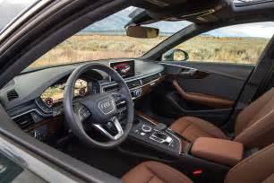 2017 audi a4 allroad interior motor trend