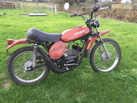 Cross Motorrad 50ccm by Moto Guzzi Gr Trail Cross 50cc Moped Classic Vintage In