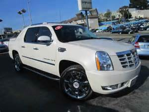 Cadillac Truck For Sale Cadillac Escalade Ext White 2008 California Mitula Cars