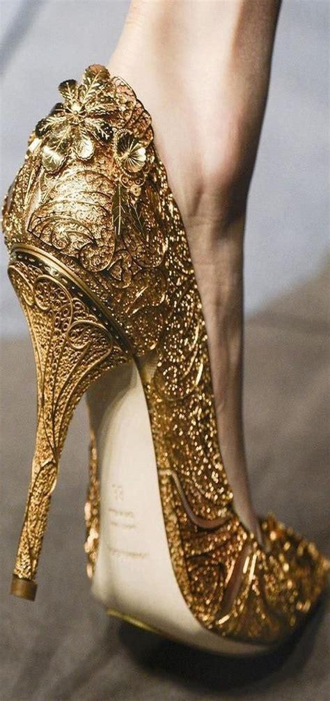 golden high heels floral trends for 2015 bloomful