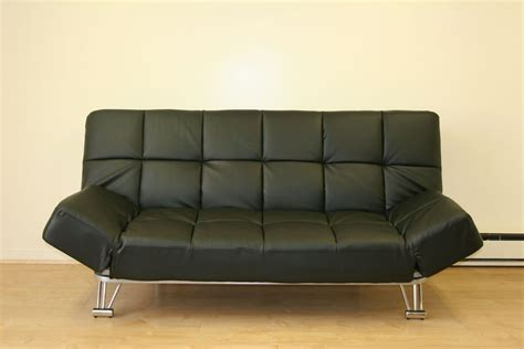 Sleeper Sofa Indianapolis by Venus Black Leatherette Sofa Bed With Color Options