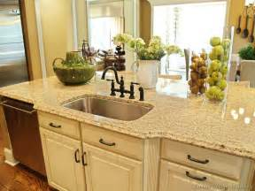 Kitchen Cabinet Countertops by Pictures Of Kitchens Traditional Off White Antique