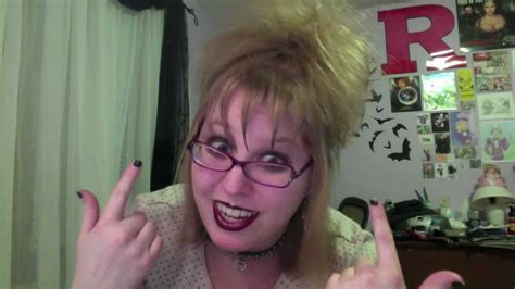 lydia deetz hairstyle lydia deetz hair tutorial youtube