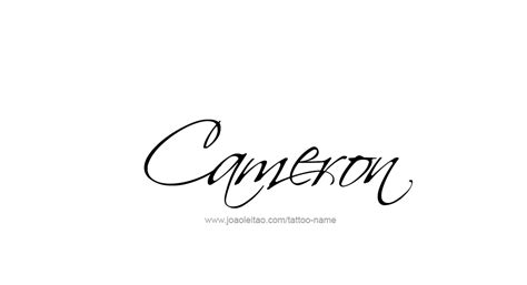 cameron name designs