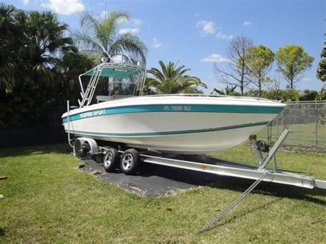 30 fishing boats for sale 1993 used scarab sport 30 center console fishing boat for