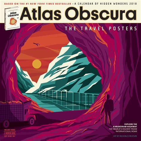 atlas obscura wall calendar 1523501553 atlas obscura wall calendar 2018 atlas obscura 9781523501557 books amazon ca