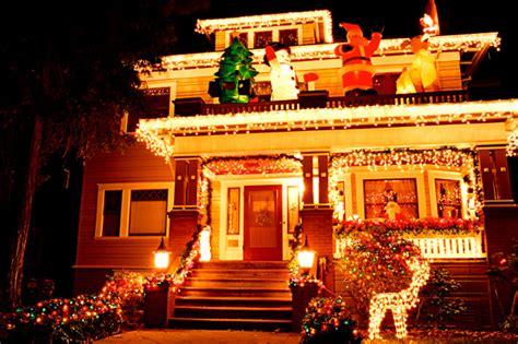 take a christmas lights drive